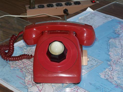 Téléphone rouge du Président Reagan