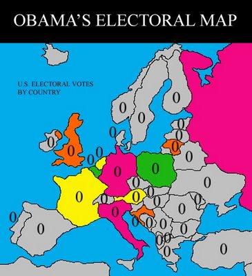 Obama S Electoral Map
