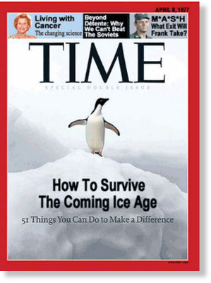 time magazine says ice age is coming