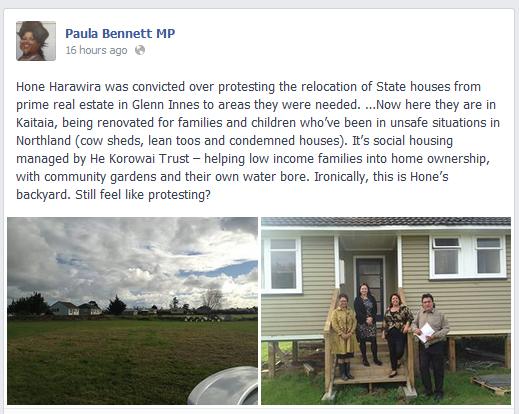 Paula Bennett FB