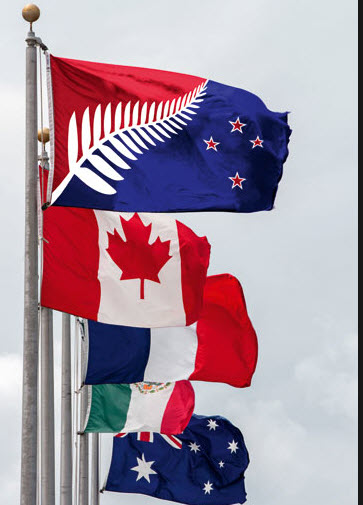 New Flag Lineup